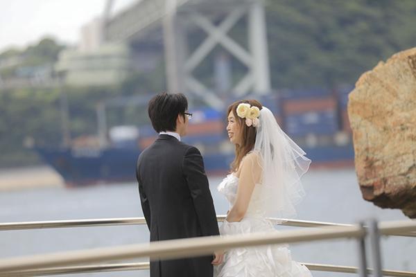 関門海峡ウェディングフォト