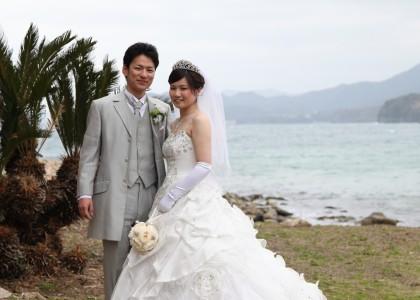 萩市菊が浜ロケ
