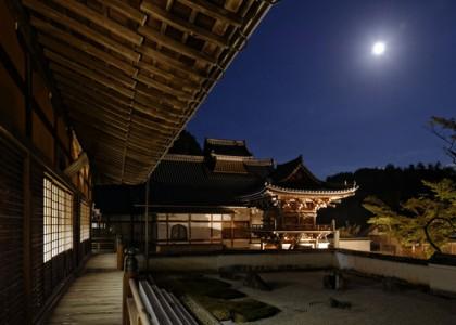 夜の常栄寺