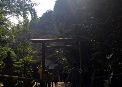 堀庭園・津和野で写真婚