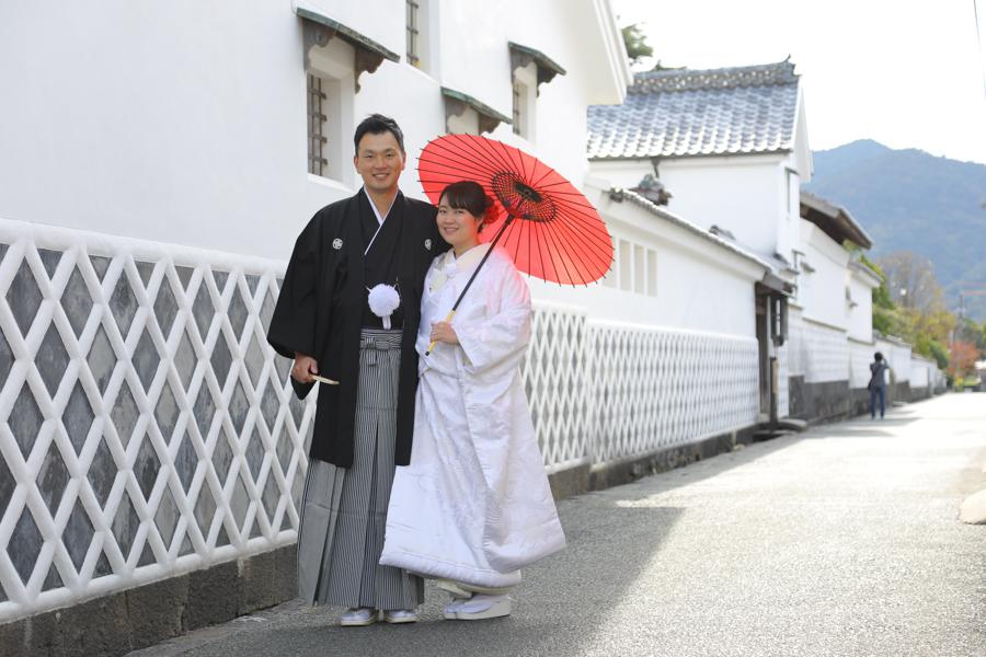 菊谷横丁結婚写真撮影