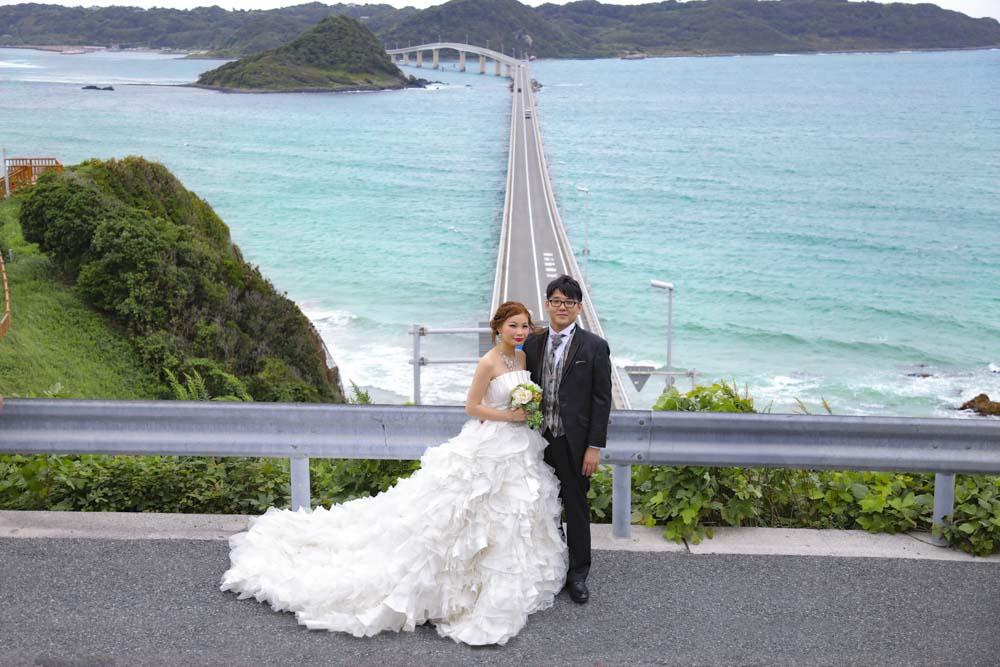 角島大橋結婚写真