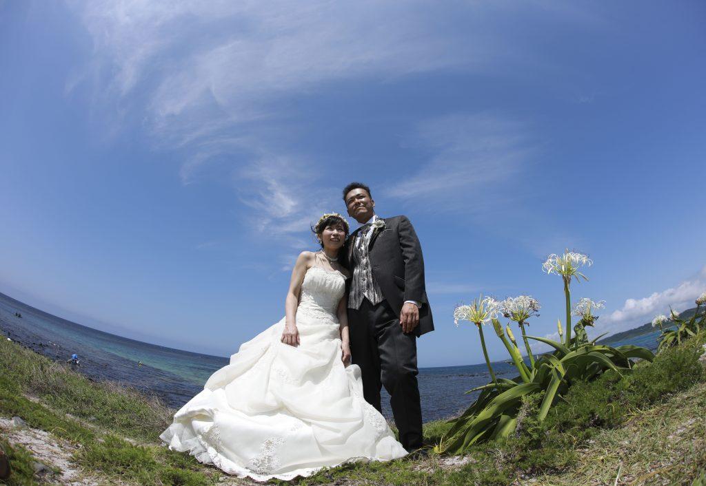 角島の初夏の渚