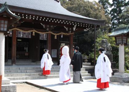 松陰神社挙式