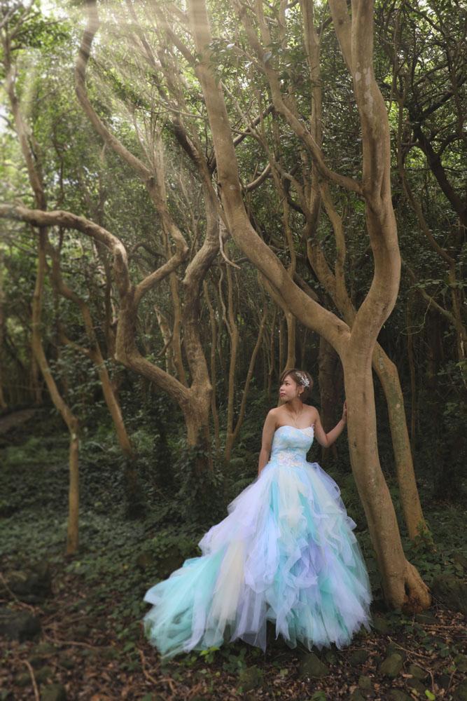萩ロケ撮影ドレス